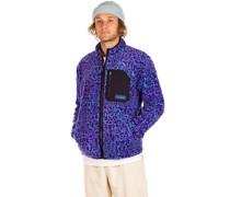 Muzzer Fuzzar Zip Jacket print