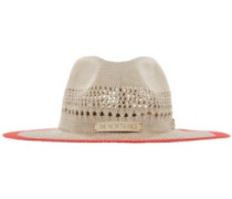 Packable Panama Hat sunbaked red