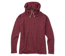 Bloom Knit Pullover sangria heather