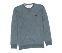 All Day Crew Sweater dark slate htr