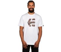 City Mod T-Shirt weiß