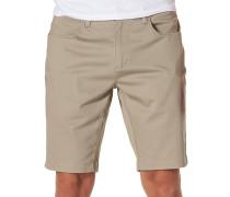 Auto Redial 6 Shorts braun