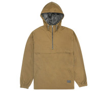 Hooded Windbreaker braun