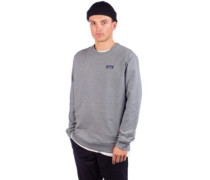 P-6 Label Uprisal Crew Sweater gravel heather