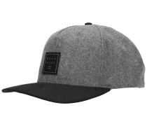 Stacked Up Snapback Cap grey