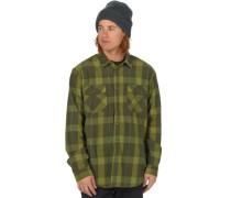Brighton Tech Flanell Shirt LS forest night boxelder