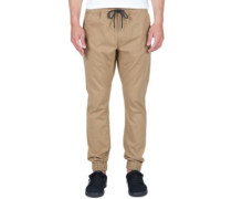 Volatility Joggier Pants dark khaki