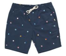 Range Print Shorts blau