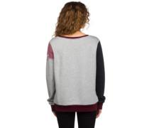Libra Crew Sweater heather black