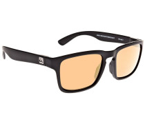 Stanford matt black Sonnenbrille schwarz
