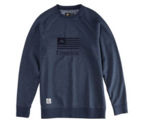 Arrows Crewneck Sweater navy