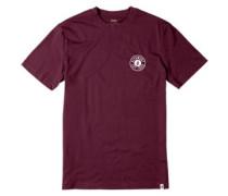 Est 1969 T-Shirt burgundy