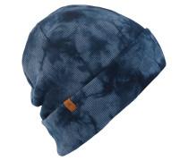 Tie Dye Beanie blau