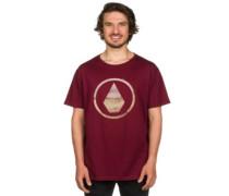 Canvas Stone Bsc T-Shirt merlot