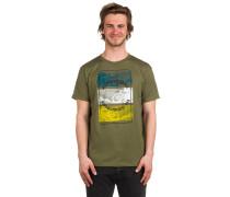 Burnt T-Shirt grün
