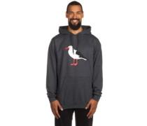 Gull 2 Hoodie heather black