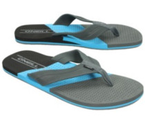 Imprint Punch Sandals pure cyan
