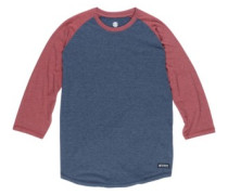 Basic Raglan Qtr T-Shirt LS indigo heather
