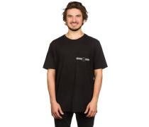 Linear Pocket T-Shirt schwarz
