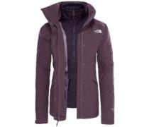 Naslund Tri Outdoor Jacket blck plum dark heather