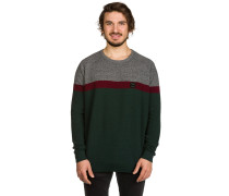 Ras Role Stripe Knit Sweater grün