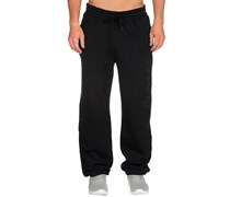 Company Fleece Jogginghose schwarz