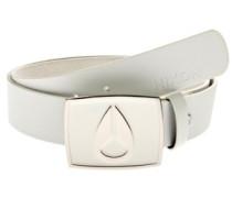 Enamel Icon Belt white