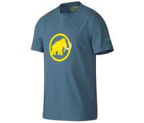 Logo T-Shirt blau
