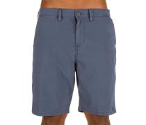 New Order X OVD Shorts blau