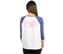Full Patch Raglan T-Shirt LS crown blue