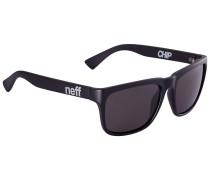 Chip Shades matte black Sonnenbrille schwarz