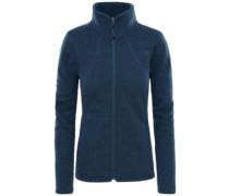 Crescent Fleece Jacket ink blue heather