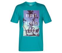 Right Heres' Good T-Shirt blau