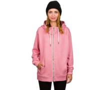 Gain Zip Hoodie pink