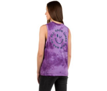 Chaine Tank Top lupine tie dye