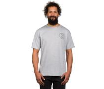 Mini Icon Outline T-Shirt grau