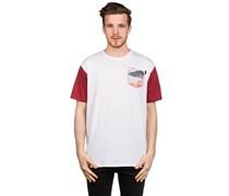 Island Pocket T-Shirt weiß
