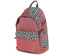 Mapuche Double Dome Rucksack rot