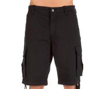 Flex Cargo Shorts schwarz