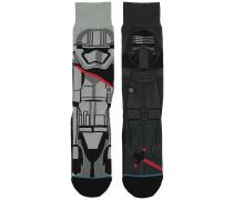 First Order Star Wars Socken grau