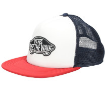 Classic Patch Trucker Cap white