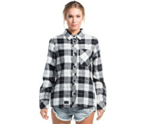 Jackson Flannel Shirt LS white