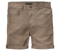 Goodstock Denim Shorts braun