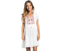 Flores Kleid weiß