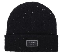 Heavy Tweed Beanie black mel