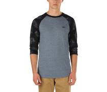 Tonal Palm Raglan T-Shirt grau