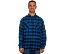 All Day Flannel Hemd blau