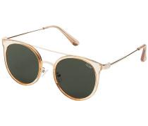 Kandy Gram Gold Sonnenbrille gelb