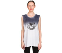 BT BxT Raglan Tank Top white