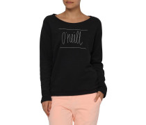 Easy Crew Sweater schwarz